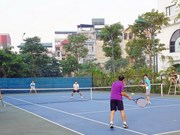 Inauguran en Vietnam torneo internacional juvenil de tenis