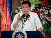 Presidente Duterte admite que EE.UU. suministra armas a Filipinas para combatir terrorismo