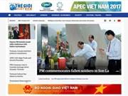 """Lanzan versión  en inglés del portal digital del periódico """"El mundo y Vietnam"""""""