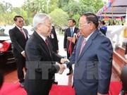 Visita a Camboya de máximo dirigente partidista de Vietnam busca fortalecer nexos