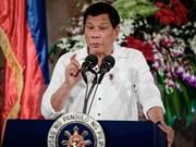 Presidente filipino pide prorrogar hasta final de año ley marcial en Mindanao