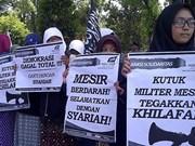 Indonesia prohíbe actividades de organización Hizbut Tahrir