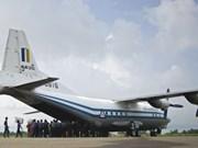 Mal tiempo causó mortal accidente de avión militar en Myanmar
