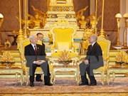 Destacan fortaleza de nexos Vietnam- Camboya