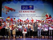 Inauguran Campamento de Verano Vietnam 2017 para coterráneos jóvenes de ultramar