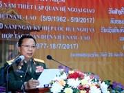 Ministerio de Defensa de Laos celebra aniversario 55 de relaciones con Vietnam