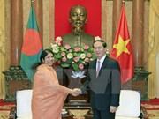 Presidente de Vietnam aspira a una mayor cooperación con Bangladesh
