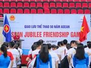 Países de ASEAN fortalecen la solidaridad mediante intercambio deportivo