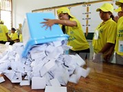 El FRETILIN lidera los comicios parlamentarios en Timor Leste