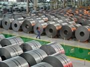 Vietnam importa 6,8 toneladas de acero