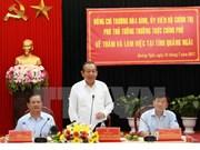 Vicepremier vietnamita pide mayor atención a la tarea de reducción de pobreza
