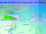 Pronostican fuertes lluvias en provincias centrovietnamitas por tifón Sonca