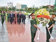 Rinden homenaje a voluntarios vietnamitas caídos en Camboya