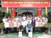 Dirigente partidista vietnamita reitera la atención del Estado a inválidos de guerra