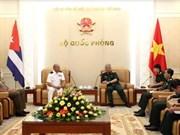 Cooperación en defensa, pilar de relaciones Vietnam-Cuba