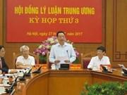 Consejo teórico del PCV celebra su tercera reunión
