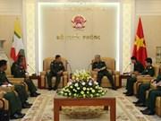 Vietnam y Myanmar intensifican cooperación en defensa