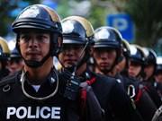 Tailandia refuerza seguridad en sede del gobierno