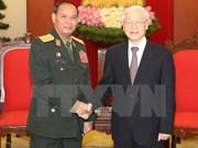 Laos hará máximos esfuerzos por desarrollar nexos con Vietnam, dice alto funcionario militar