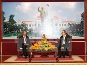 Relación entre Ciudad Ho Chi Minh y localidades laosianas desarrolla vigorosamente