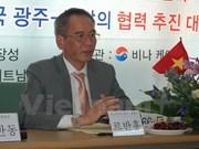 Impulsan cooperación entre provincia vietnamita de Hau Giang y ciudad sudcoreana de Gwangju