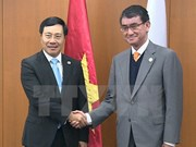 Japón y Sudcorea reafirman apoyo a posición de Vietnam en asuntos de seguridad regional