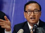 Corte de Apelación de Camboya mantiene sentencia de 20 meses de prisión a Sam Rainsy