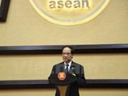ASEAN sigue firmemente su meta de construir una región pacífica y próspera