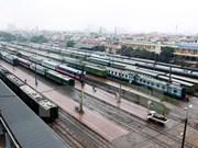 Ponen a prueba tren de contenedores entre Vietnam y China