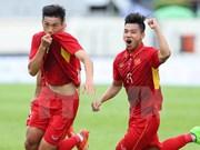 Buen inicio de selección vietnamita de fútbol en SEA Games 29