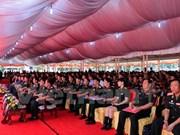 Vietnam ofrece capacitación a oficiales del ejército laosiano