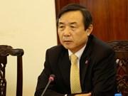 """Condecoran a diplomático sudcoreano con medalla """"Por la paz y amistad entre los pueblos"""""""