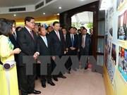 Exposición resalta nexos Vietnam-Laos-Camboya en seguridad pública