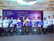 Estudiantes vietnamitas compiten en finales de concurso internacional de Tecnología en Sudcorea