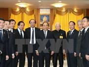 Premier de Vietnam continúa con agenda apretada en Tailandia