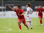 Equipo femenino de fútbol de Vietnam vence a Myanmar
