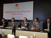 Efectúan conferencia de promoción de inversión financiera de Japón en Vietnam