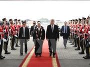 Inicia máximo dirigente partidista de Vietnam visita oficial a Indonesia