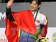 Nadadora Anh Vien cosecha más oros para Vietnam en SEA Games 29