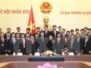 Presidenta de Asamblea Nacional de Vietnam recibe a jóvenes parlamentarios japoneses