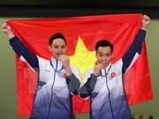 SEA Games 29: Gimnastas vietnamitas dominan prueba de barras asimétricas