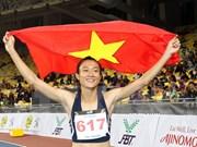 SEA Games 29: Atleta vietnamita reina en carreras de 100 y 200 metros