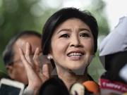 Exprimera ministra tailandesa huyó a EAU, según diario local