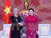 Presidenta parlamentaria vietnamita destaca cooperación con UNESCO