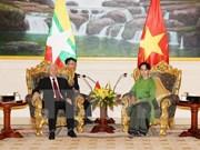 Lazos partidistas Vietnam- Myanmar: fundamento para progreso dinámico nacional