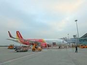 Vietjet Air inaugura ruta directa Hanoi- Rangún