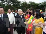 Destacan significado de visitas a Indonesia y Myanmar de dirigente partidista vietnamita