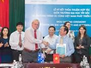 Australia ayuda a universidades de región montañosa norteña de Vietnam