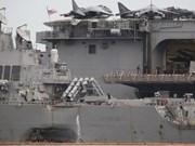 Malasia realiza investigación especial sobre choque entre destructor estadounidense y petrolero