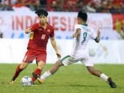 Delantero vietnamita Cong Phuong, mejor goleador en SEA Games 29